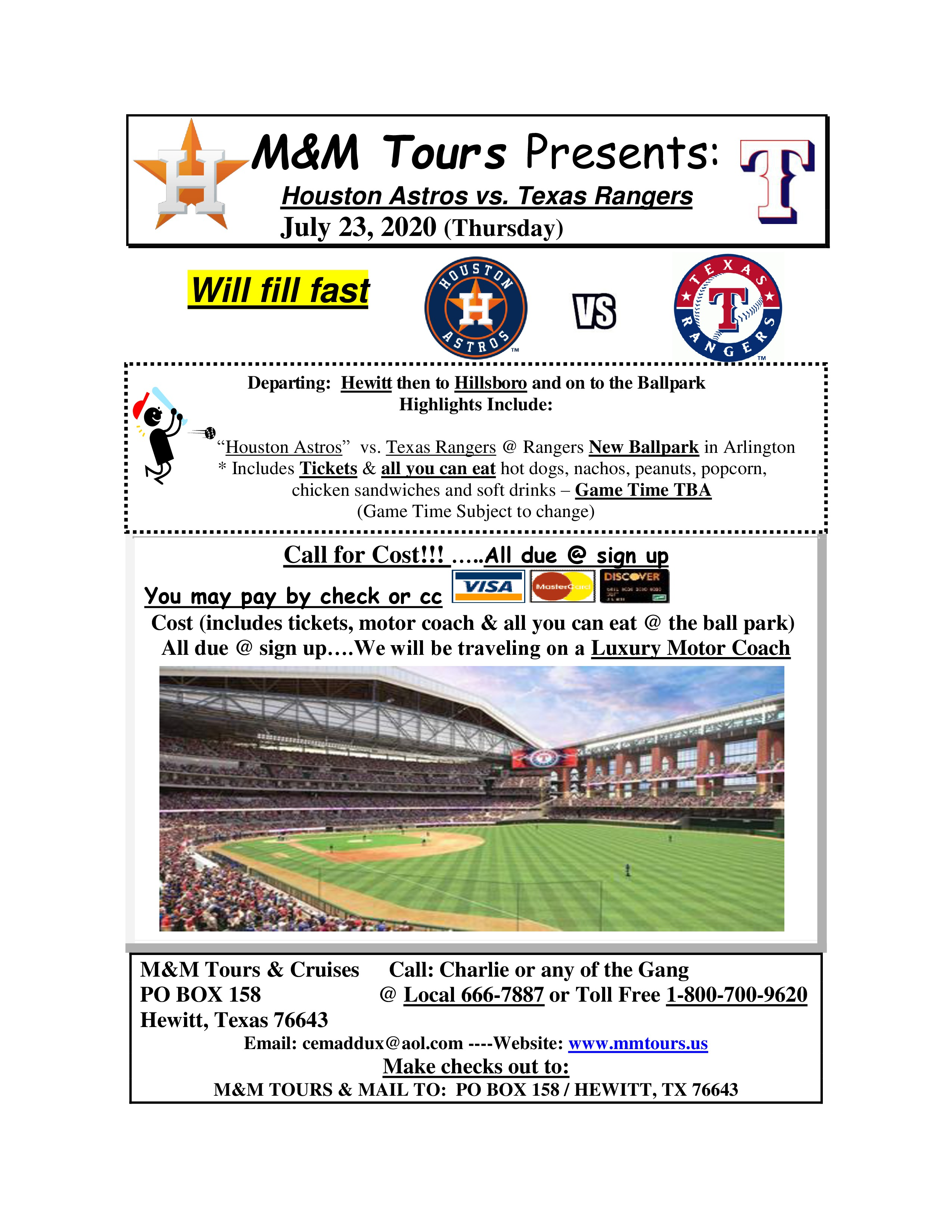 photo about Texas Rangers Schedule Printable titled Rangers Contemporary Stadium Activity July 2020